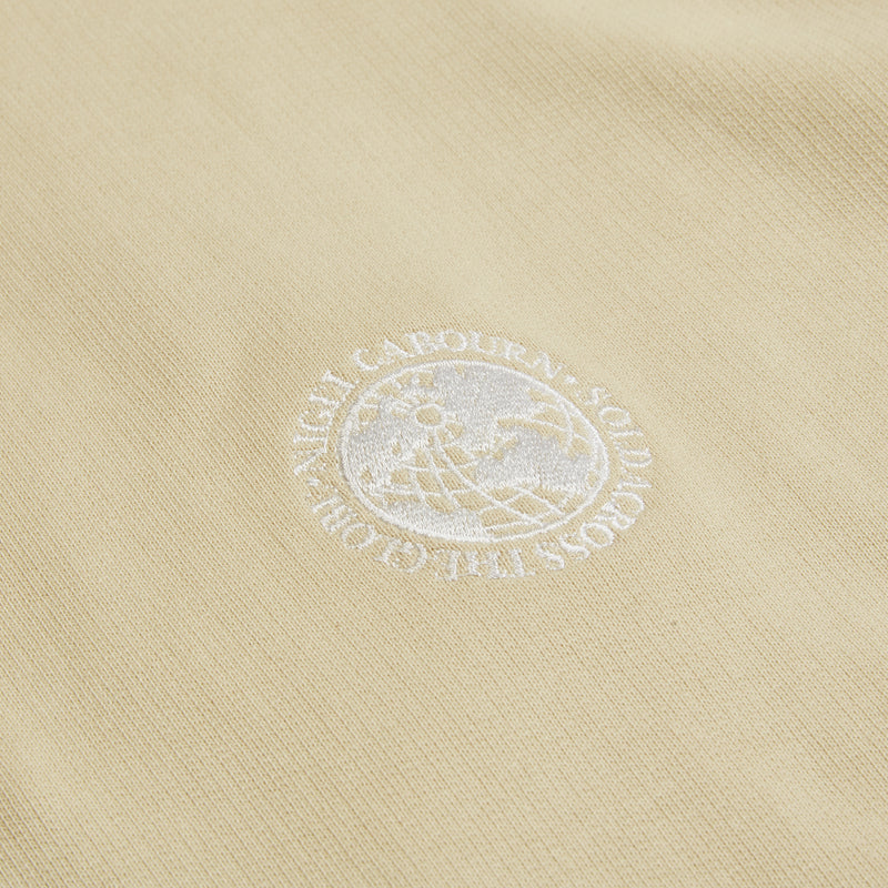 Nigel Cabourn Loopback Jersey Hoody - Ecru - Burrows and Hare