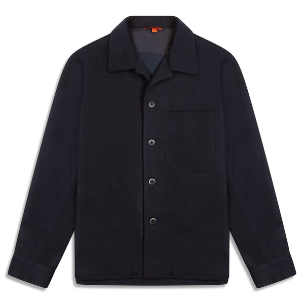Barena Wool Blend Overshirt - Burrows and Hare