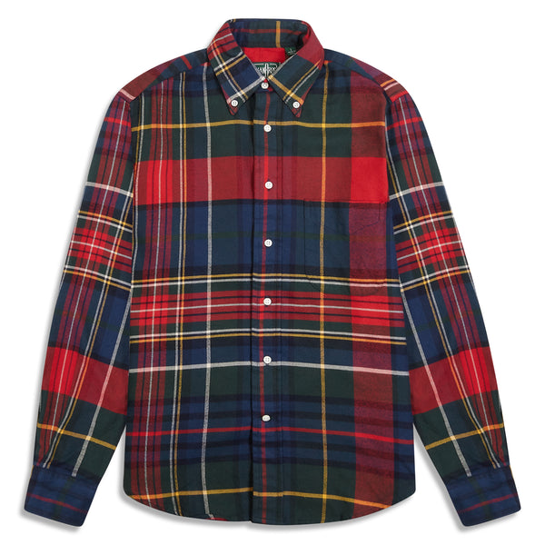 Gitman Bros. Vintage Flannel Button Down - Tartan - Burrows and Hare