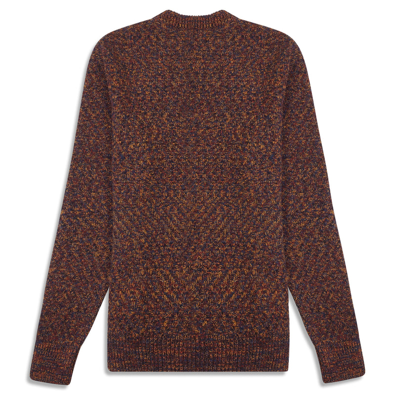 Oliver Spencer Blenheim Jumper - Rust Multi - Burrows and Hare