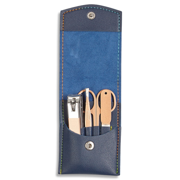 Burrows & Hare Manicure Set - Navy - Burrows and Hare