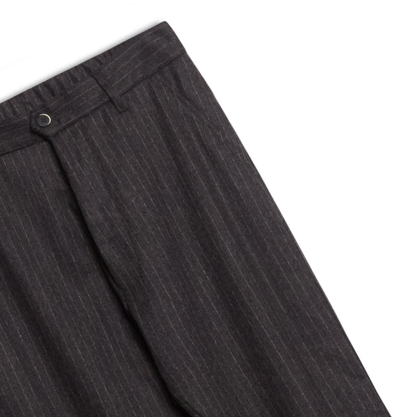 Barena Regular Fit Trouser Pinstripe - Grey - Burrows and Hare