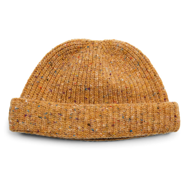 Burrows & Hare Donegal Beanie Hat - Mustard - Burrows and Hare