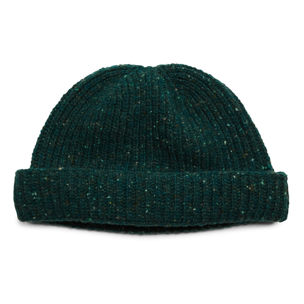 Burrows & Hare Donegal Beanie Hat - Teal - Burrows and Hare