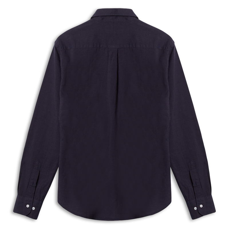 Burrows & Hare Textured Shirt - Navy - Burrows and Hare