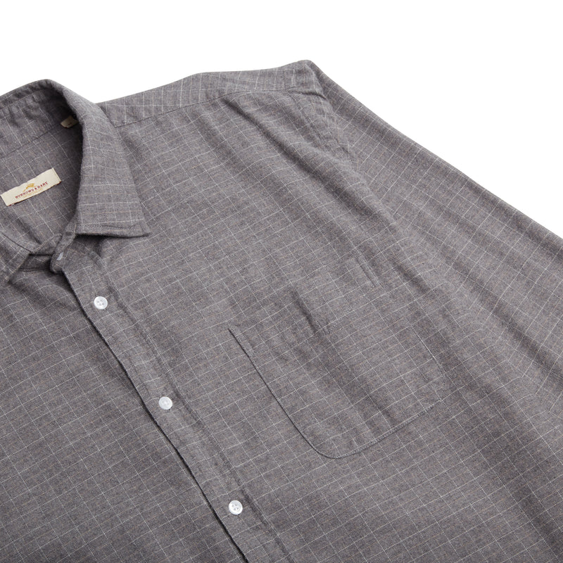 Burrows & Hare C & C Shirt - Grey - Burrows and Hare