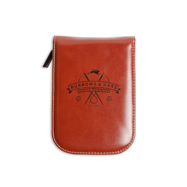 Burrows & Hare Leather Travel Shaving Case - Burrows and Hare