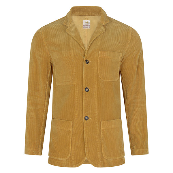 Burrows and Hare Cord Jackets - Mustard