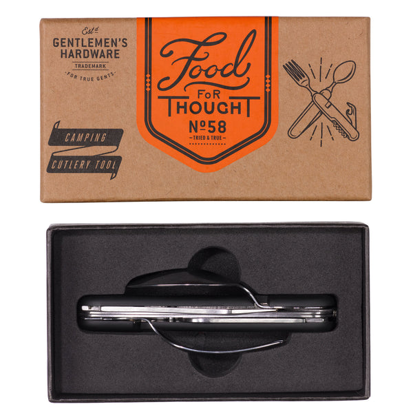 Gentlemans Hardware Separating Stainless Steel Camping Cutlery