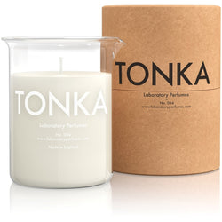 Soy Wax 004 Sweet Spiced Tonka Scented Room Candle - Burrows and Hare