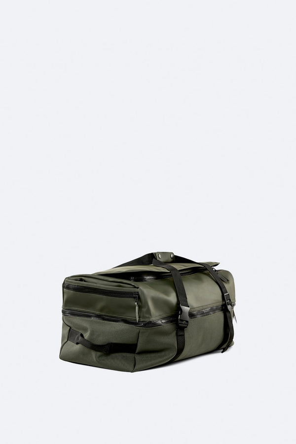 Rains Unisex Duffel Backpack - Green