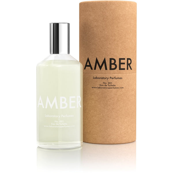 Laboratory Perfumes No.001 Eau De Toilette / Unisex Fragrance - Amber - Burrows and Hare