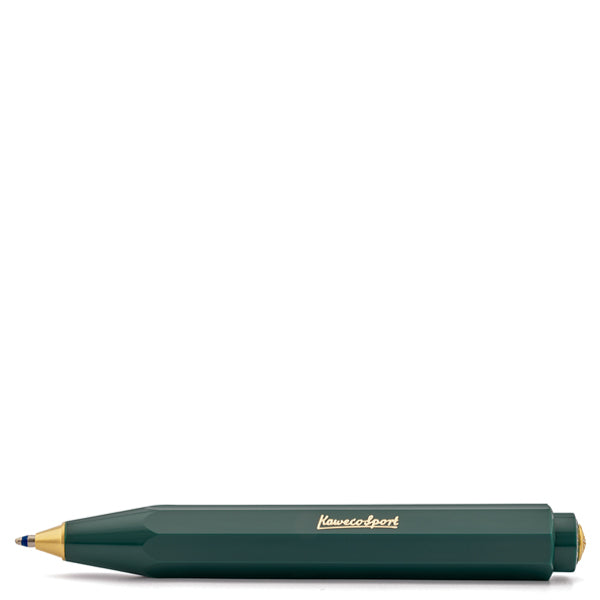 Kaweco Classic Sport Racing Green Ballpoint Pen - Burrows and Hare