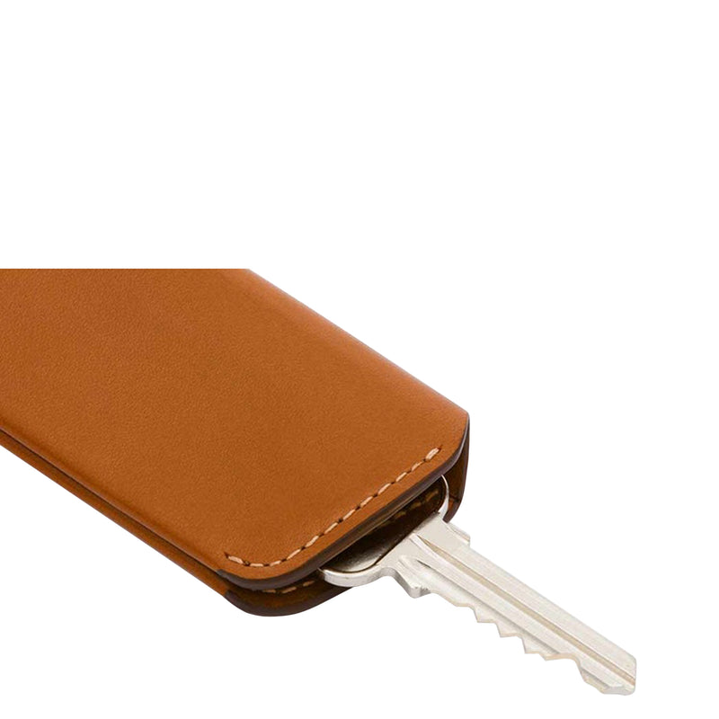 Bellroy Key Cover Plus - Caramel - Burrows and Hare