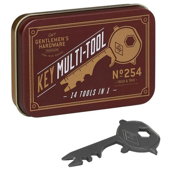 Gentlemen's Hardware 14-in-1 Key Multi-Tool - Burrows and Hare