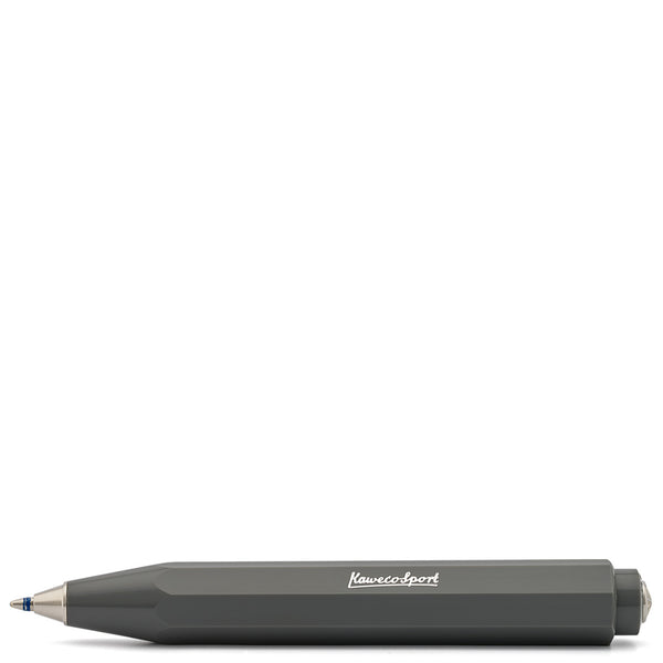 Kaweco Skyline Sport Grey Ballpoint Travel Pen - Burrows and Hare