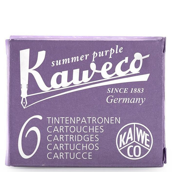 Kaweco Ink Cartridges (6-Pack) - Summer Purple