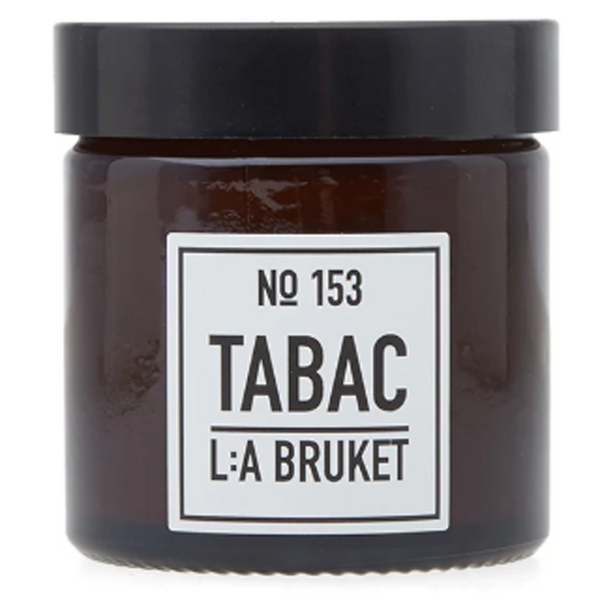 L:A Bruket No.153 - Soy Wax Tabac Scented Candle - Burrows and Hare