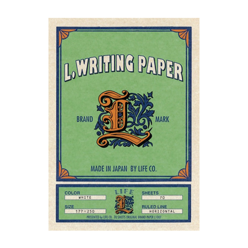 Life Japan Letter Writing Paper - Burrows and Hare