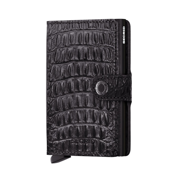 SECRID RFID Miniwallet - Nile Black - Burrows and Hare