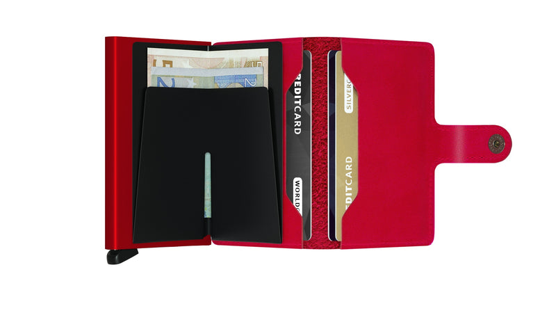 SECRID Red RFID Original Miniwallet