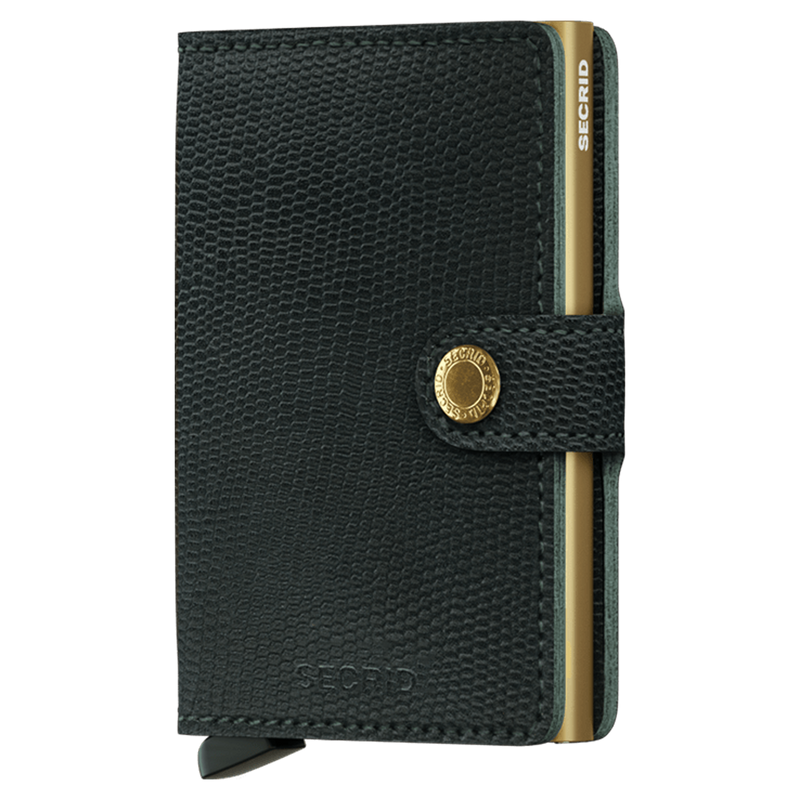 SECRID Rango Green RFID Miniwallet - Burrows and Hare