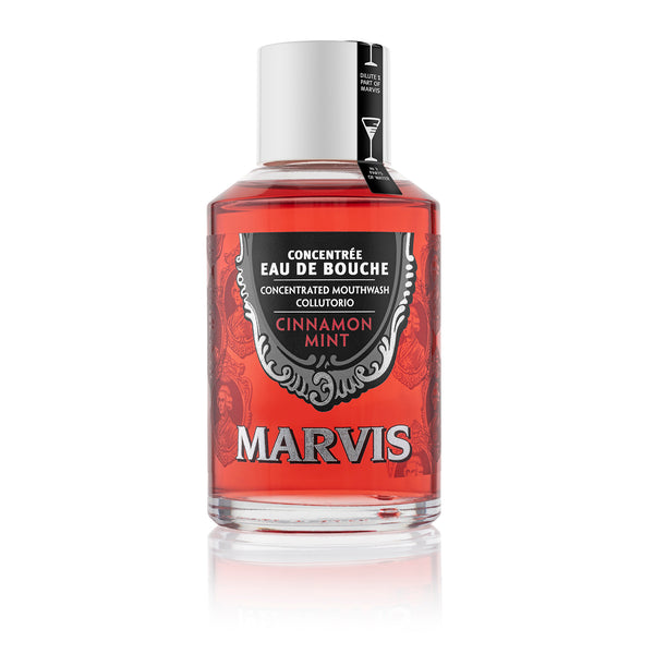 Marvis Mouthwash Concentrate - Cinnamon Mint - Burrows and Hare