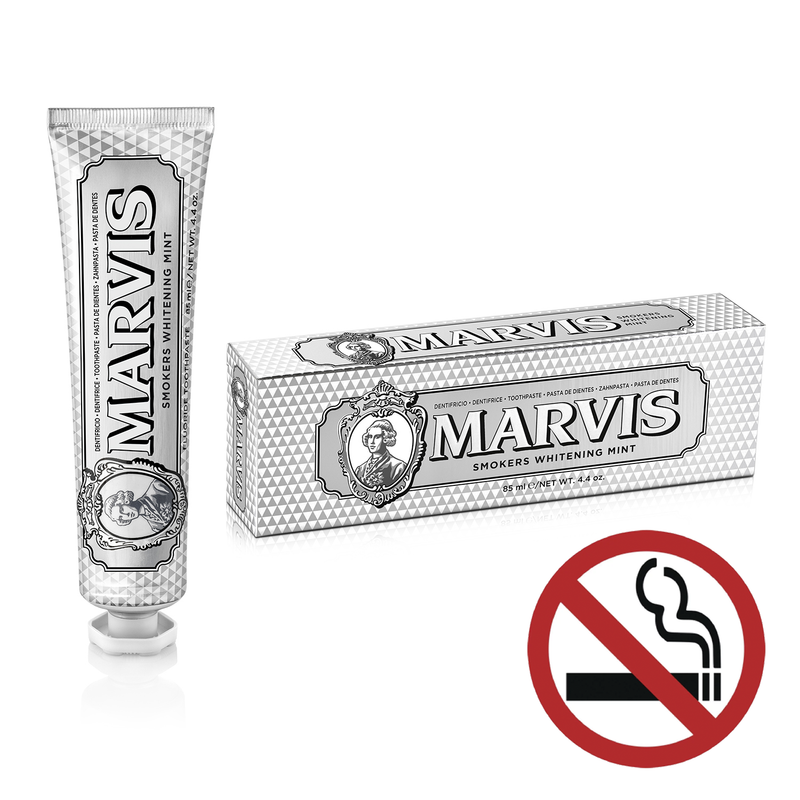 Marvis Luxury Toothpaste - Smokers Whitening Mint - Burrows and Hare