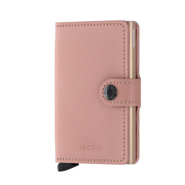 SECRID Rose Floral 'Crisple' Miniwallet - Burrows and Hare