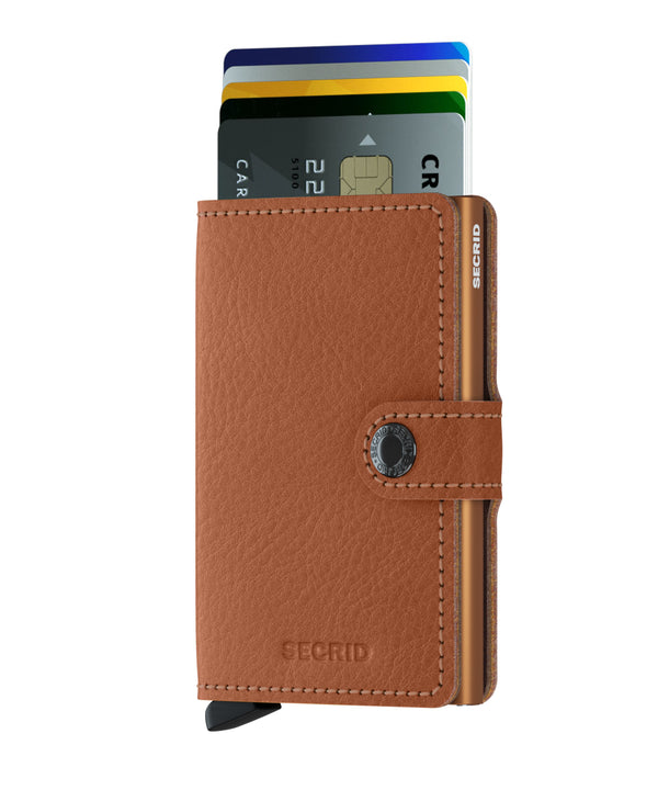 secrid mini wallet Veg Caramello