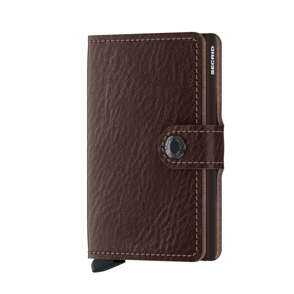 Secrid RFID Miniwallet - Veg Espresso Brown - Burrows and Hare