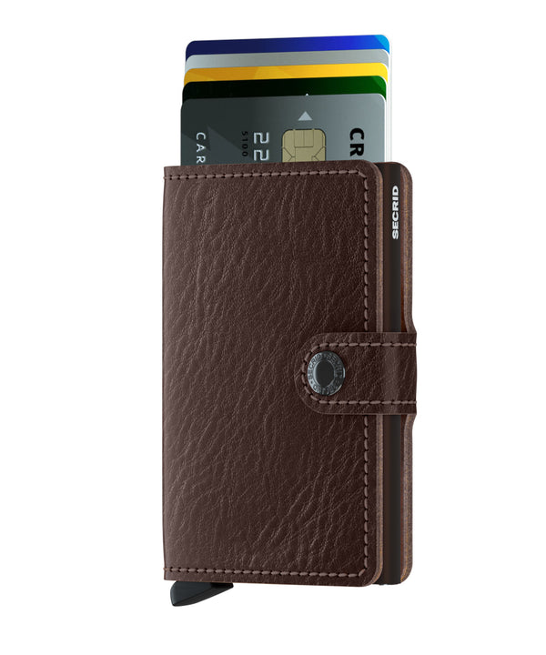 Secrid Veg espresso mini wallet