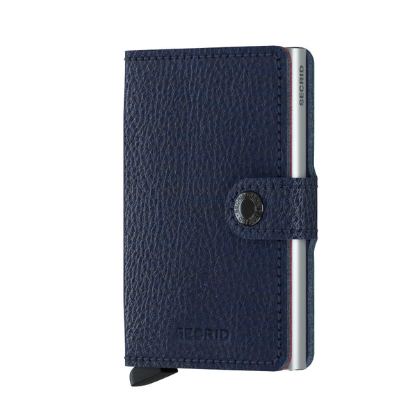 SECRID RFID Miniwallet - Veg Navy - Burrows and Hare