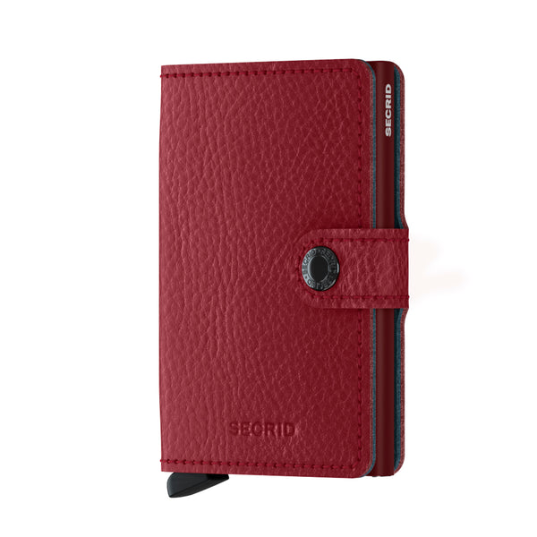 Secrid RFID Miniwallet - Veg Rosso - Burrows and Hare