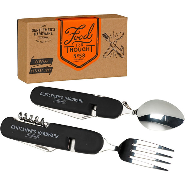 Gentlemans Hardware Separating Stainless Steel Camping Cutlery-lifestyle-Gentleman's Hardware-Burrows and Hare