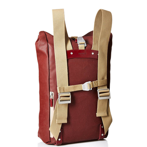 Brooks England Pickwick Roll Top Cycling Backpack 12/14L - Chianti - Burrows and Hare