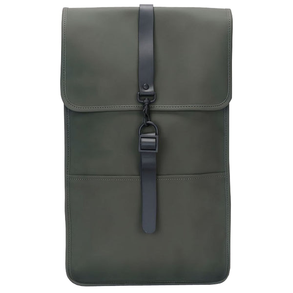 Rains Waterproof Backpack - Khaki Green - Burrows and Hare