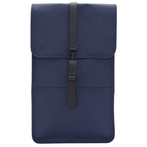 Rains Waterproof Mini Backpack - Navy - Burrows and Hare