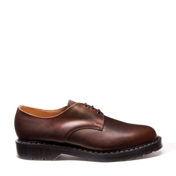 Solovair Gaucho Crazy Horse Gibson Shoe - Burrows and Hare