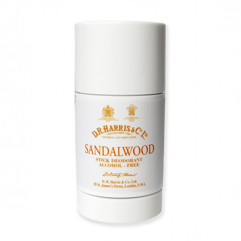 D.R Harris Deodorant Stick - Sandalwood - Burrows and Hare