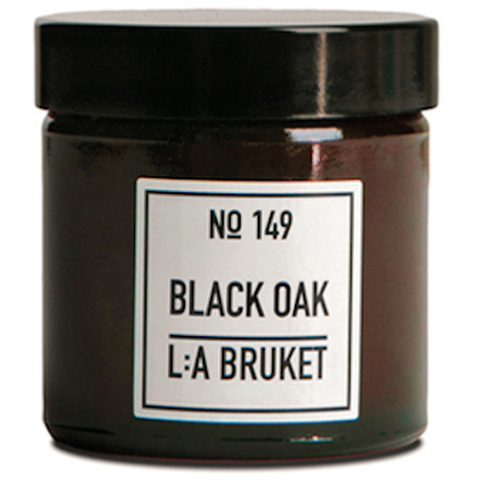 L:A Bruket No: 149 Black Oak Organic Soy Wax Scented Candle-Accessories-L:A Bruket-Burrows and Hare
