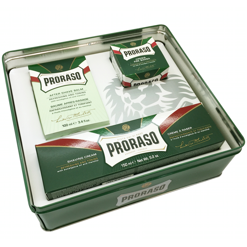 Proraso Vintage Selection Tin - Refreshing - Burrows and Hare