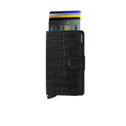 Secrid Miniwallet cleo Black - Burrows and Hare