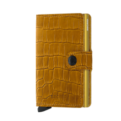 Secrid RFID Miniwallet - Cleo Ochre - Burrows and Hare
