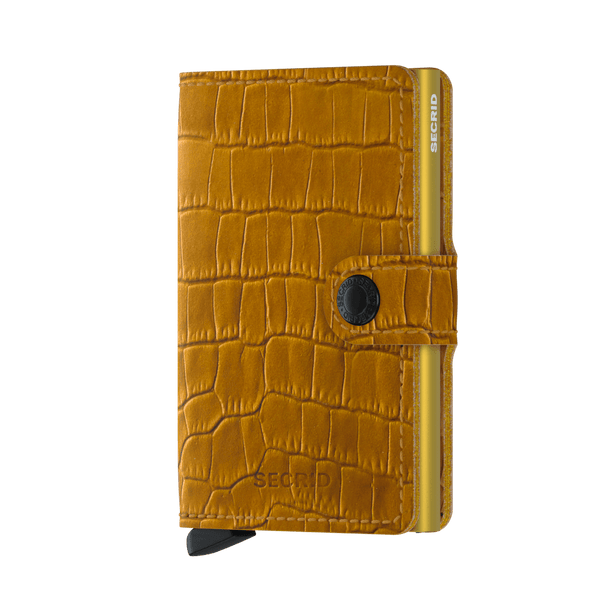 Secrid Miniwallet Cleo Ochre - Burrows and Hare