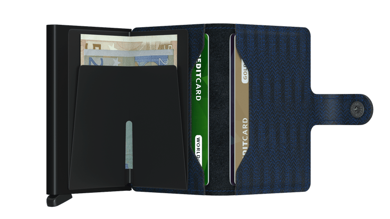 Secrid RFID Miniwallet - Dash Navy - Burrows and Hare