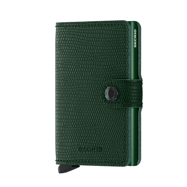 SECRID RFID Miniwallet - Rango Green - Burrows and Hare