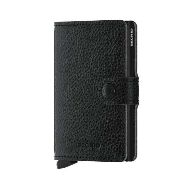 Secrid RFID Miniwallet - Veg Black / Black - Burrows and Hare