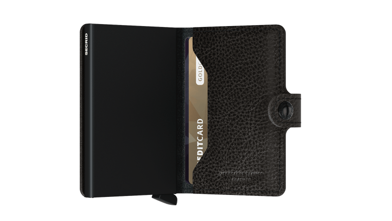 Secrid Miniwallet Veg Black - Burrows and Hare