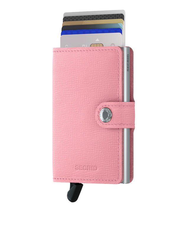 Secrid RFID Miniwallet - Crisple Pink - Burrows and Hare